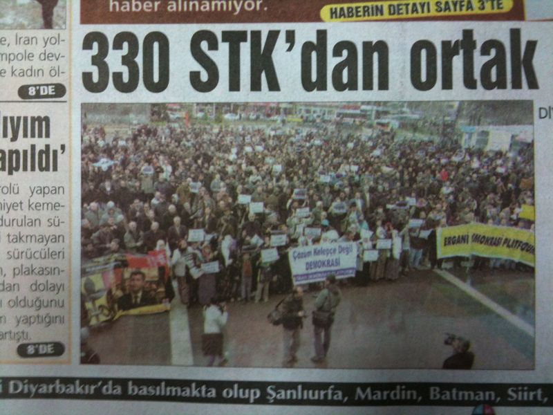 Diyarbakir demo